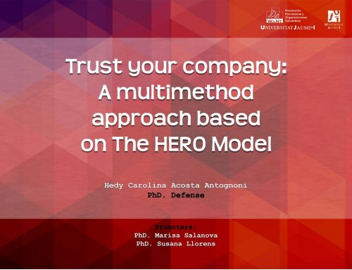 Tesis|WANT: Trust your company: A multimethod approach based on the HERO model. Hedy Acosta