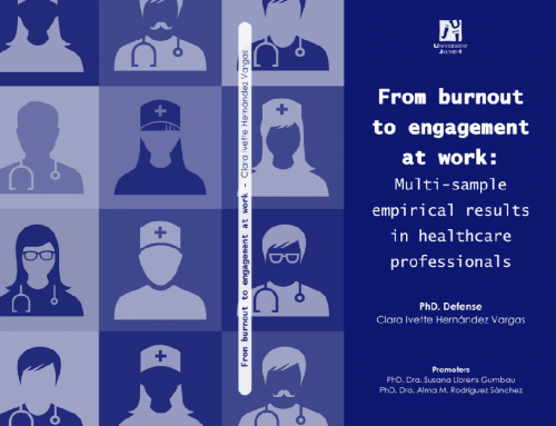 Tesis|WANT: From burnout to engagement at work:  Multi-sample empirical results in healthcare professionals. Ivette Hernández