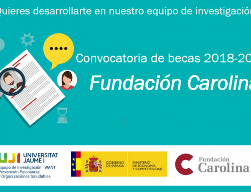 Beca Fundación Carolina para estudiantes de Iberoamérica
