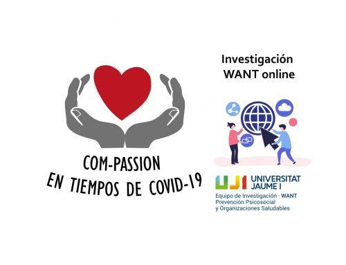 Investigación: Com-passion en tiempos de COVID-19